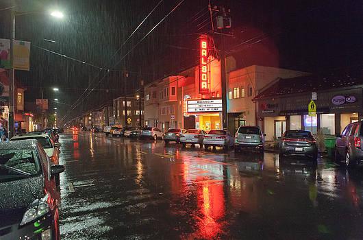 Daniel Furon - Rain over Balboa Village