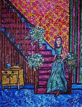 Decending Staircase by Linda Vaughon