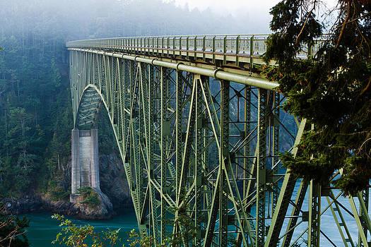 Deception Pass Bridge by Teresa Hunt