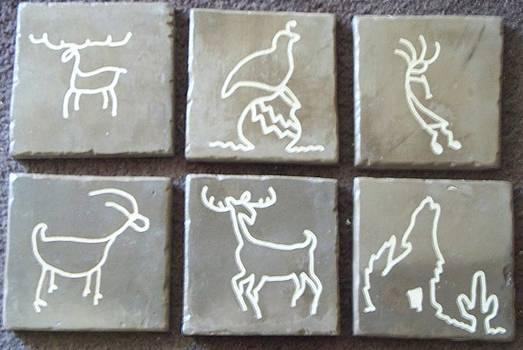 Deco Tiles by Patrick Trotter