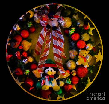 Decorated Wreath by Kathleen Struckle