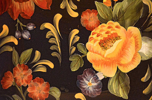 Decorative Floral Painting by Sandi OReilly