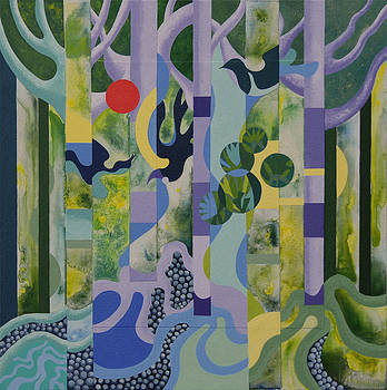 Deep in the Forest by Gillian Cronin