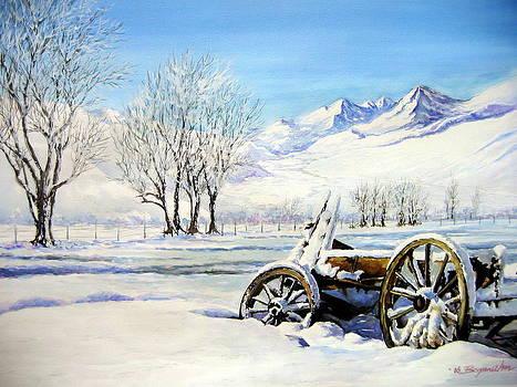Deep In The Snow.... by Bryan Ahn