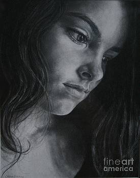 Deep in thought - 'Mary' by Cherie Sikking