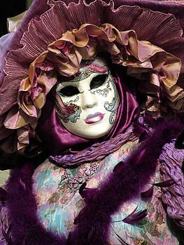 Donna Corless - Deep Purple Boa