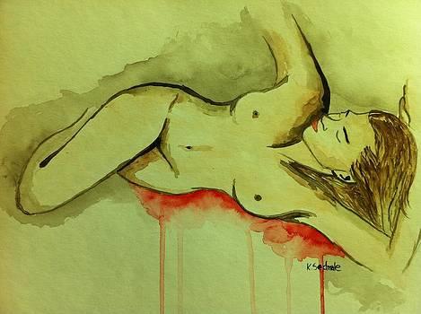 Deep sleep by Kristine Sedmale