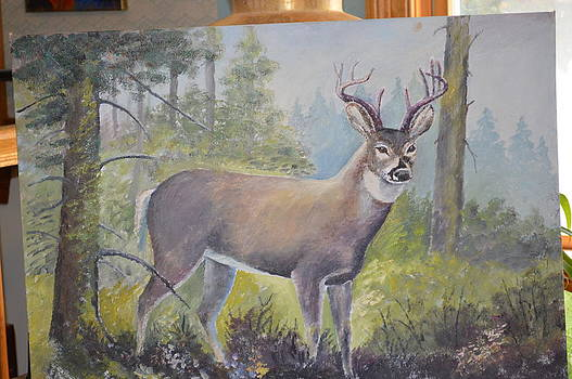 Anne-Elizabeth Whiteway - Deer  another view