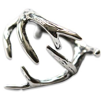 Deer Antler Ring by Michael  Doyle
