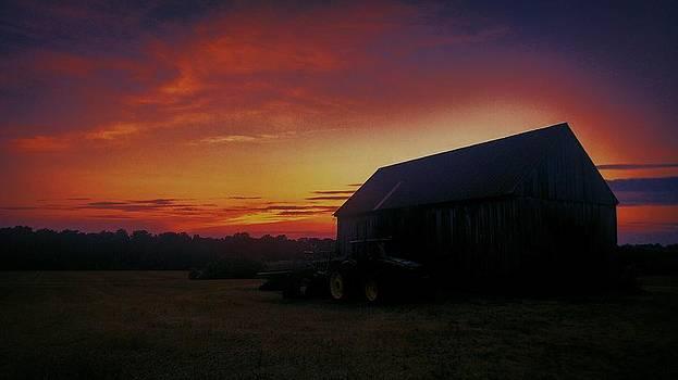 Kevin D Davis - Deere Sunset