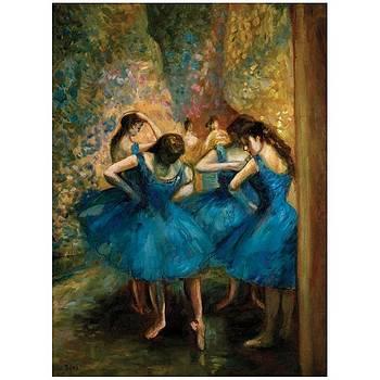 Degas Copy of Danseuses bleues by J Nance