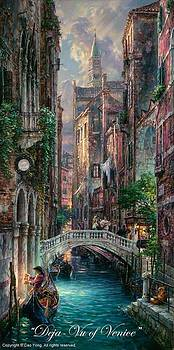 Deja Vu Of Venice by Cao Yong