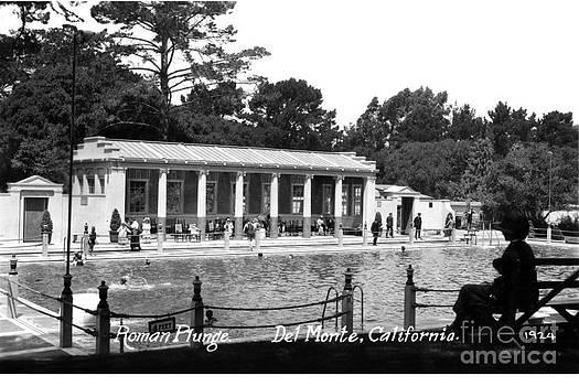 California Views Mr Pat Hathaway Archives - Roman Plunge  Del Monte Monterey California circa 1924