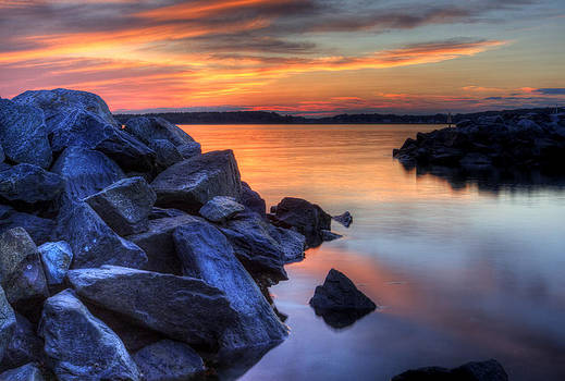 Delaware Sunset by David Dufresne