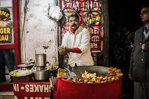 Delhi Cook by James McRae