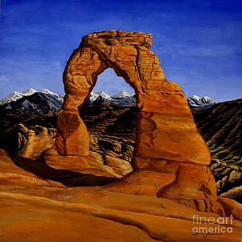 Delicate Arch by Damir Selmanovic