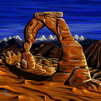 Delicate Arch by Pia Langfeld