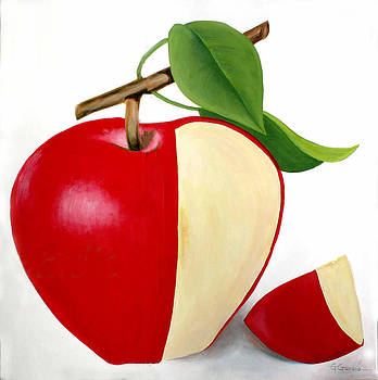 Delicious apple by Gonzalo Garcia G