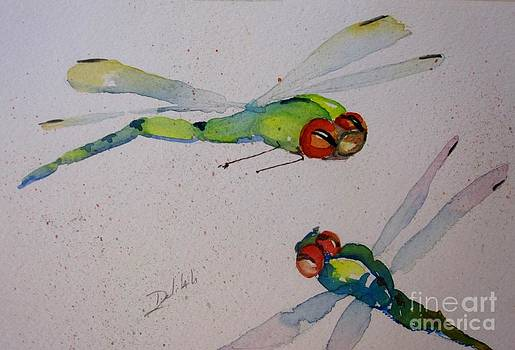 Delightful Dragonflies by Delilah  Smith