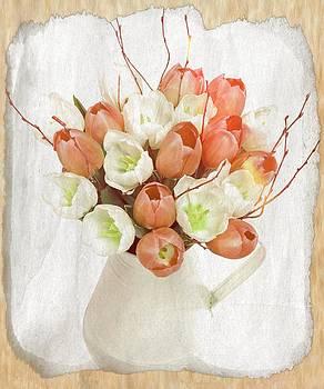Debra  Miller - Deluxe Peach Tulips