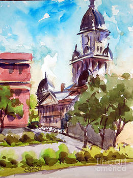 Denton County Courthouse TX by Ron Stephens
