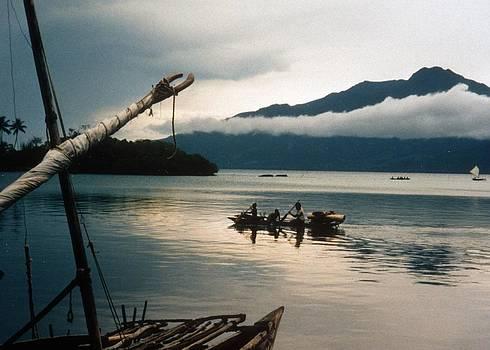 D'Entrecasteaux canoe by David Olson