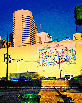 Denver Downtown by Julie Magers Soulen