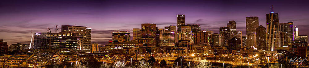 Denver Skyline by Zach Connor