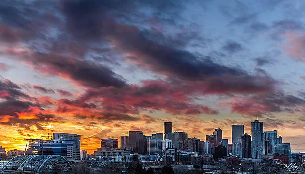 Denver Sunrise by Zach Connor