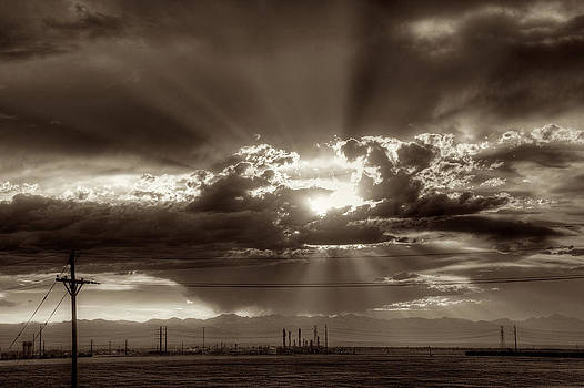 Denver Sunset by William Wetmore