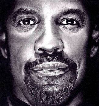 Denzel Washington by Rick Fortson