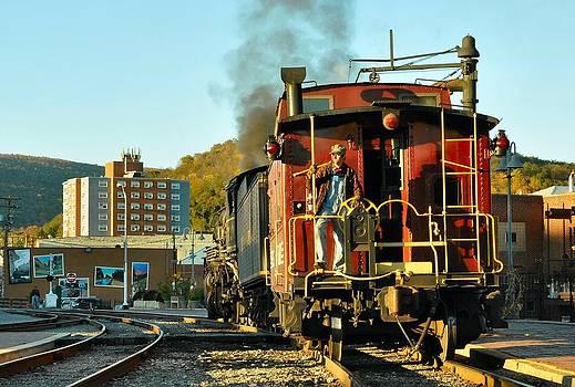 Departing Cumberland by Evan Schilling