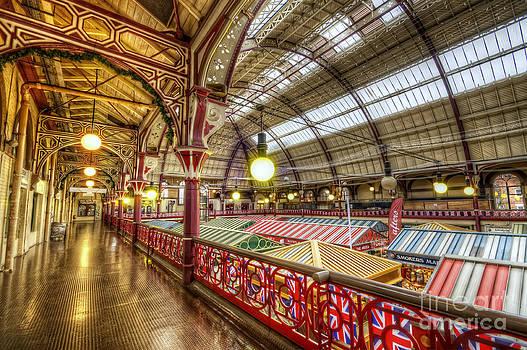 Yhun Suarez - Derby Market Hall Balcony