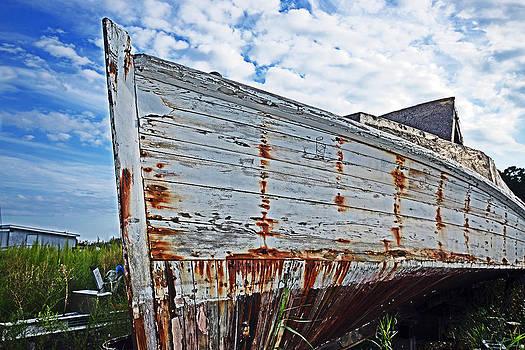 Bill Swartwout Fine Art Photography - Derelict Workboat in Greenbackville