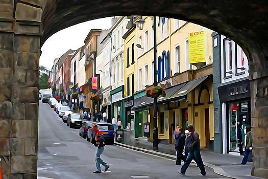 Charlie  Brock - Derry Life - Irish Art by Charlie Brock