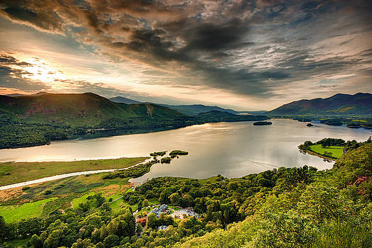 Derwent Water by Andrew Barker