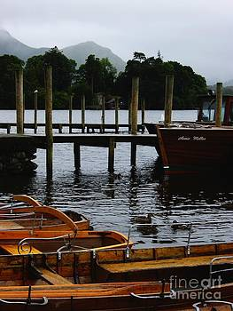 Malcolm Suttle - Derwent Water Boats and Hills