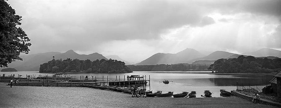 Derwent Water in the Lake District of England by David Murphy