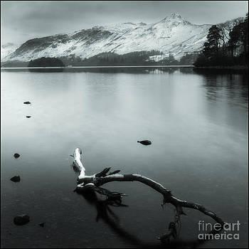 Derwentwater Before Sunrise by George Hodlin