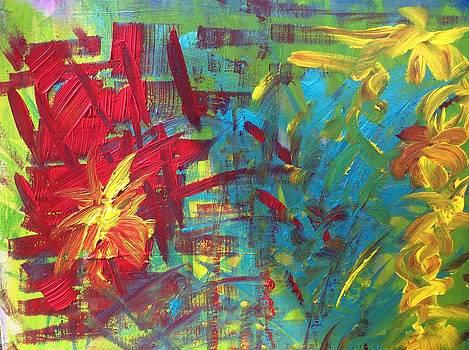 Des fleurs sont nees by Danielle Landry
