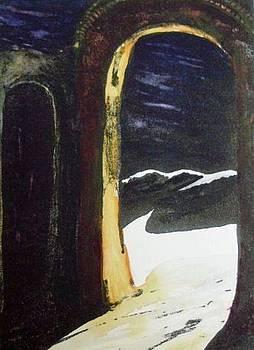 Desert Archway by Joann Renner