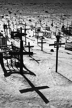 James Brunker - Desert Cemetery Shadow