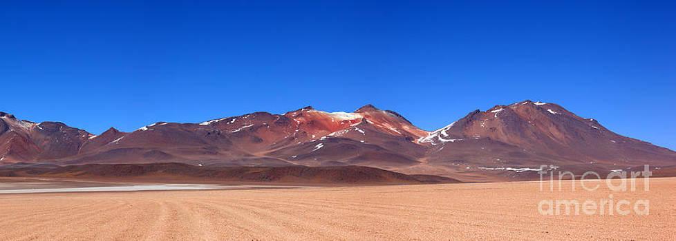 James Brunker - Desert Colours Panoramic