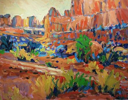 Desert Floor by Brian Simons