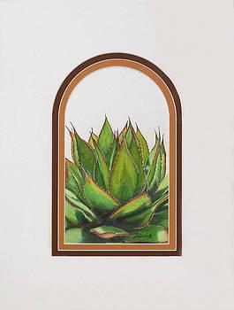 Desert Greens in Arch by Joyce Blank