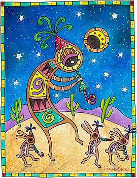 Desert Holiday Celebration by Mark Hicks