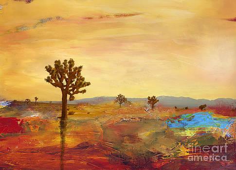 Desert landscape by Stella Levi