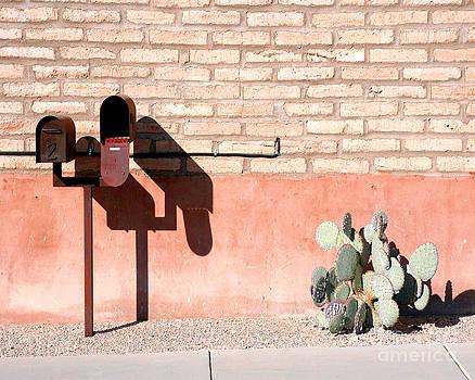 Desert Mailboxes by Jillian Audrey Photography
