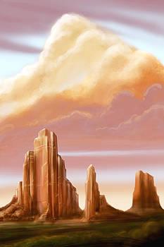 Desert Monuments by Steve Benton