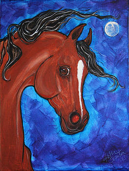 Desert Moon by Helen Scanlon